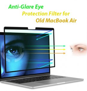 Anti-Glare Eye Protection Filter for Old MacBook Air